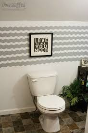 chevron bathroom ideas how to get a gorgeous bathroom in less than three hours hometalk