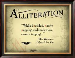 alliteration the flying scribbler
