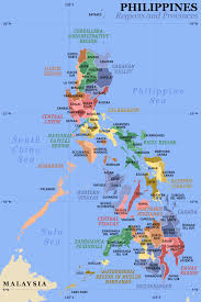 map of province a clickable map of the philippines exhibiting its 17 regions and