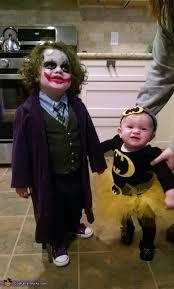 Scary Baby Halloween Costumes Joker U0026 Bat Baby Costume Joker Costumes Bats
