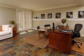 lower level renovation creates home office in mclean virginia