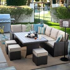 Patio Sectional Furniture Clearance Outdoor Sectional Furniture Costco For Beautiful Outdoor