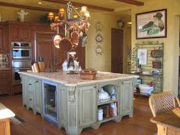 Old Looking Kitchen Cabinets Cabinetry Oven Stoves Kitchen Island Laminted Wood Flooring Decors