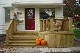 Back Porch Stairs Design Front Idea Small Porch Railing Stairs Custom Rail On This Front