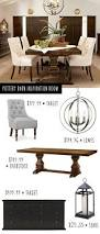 pottery barn inspiration dining room on a budget budgeting