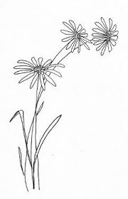 simple daisy drawing free flower templates and designs u2026 pinteres u2026