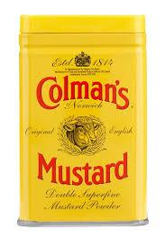 colman mustard colman s mustard powder food packaging cool packaging ideas