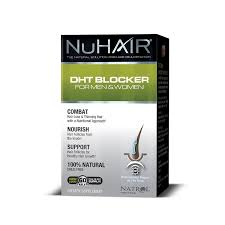 What Can I Do For My Hair Loss Amazon Com Nu Hair Dht Blocker Hair Regrowth Support Formula