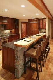 granite kitchen design beige wooden curved kitchen island