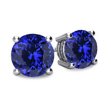 tanzanite stud earrings tanzanite earrings from encore dt