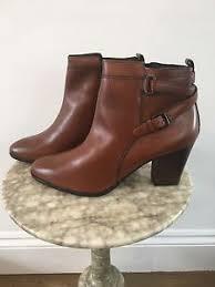 womens boots uk jones jones s leather block heel ankle boots uk 9