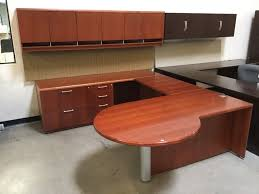 U Shape Desk Used Gunlocke U Shape Desk Arizona Office Furniture