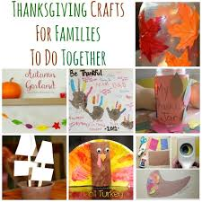 10 thanksgiving crafts for families to do together thanksgiving