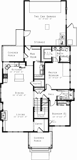 craftsman style house floor plans craftsman house plans rear garage home desain 2018