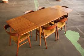 mid century expandable dining table interior mid century modern expandable dining table mid century