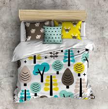 Woodland Duvet Woodland Forest Kids Comforter Set