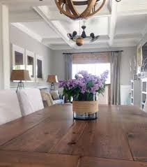 Laminate Floor On Ceiling White Wood My Diy Coffered Ceiling