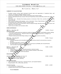 Statistician Resume Sample by Actuary Resume Actuary Resume Exampl Actuarial Analyst Resume