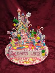candyland birthday cake candyland cake childrens cakes more at recipins candyland