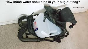 ultimate bug out vehicle urban survival how much water should you be carrying in your bug out bag