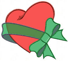 heart and ribbon tattoo designs clip art library