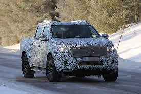 mercedes pickup truck 2018 mercedes benz x class spied in production trim pickup truck