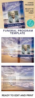 where to print funeral programs printable funeral program ready to edit print simply