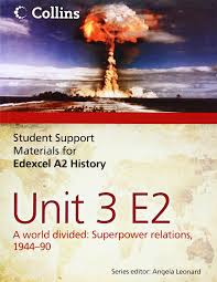 student support materials for history edexcel a2 unit 3 option