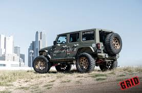 starwood jeep blue grid off road vehicle