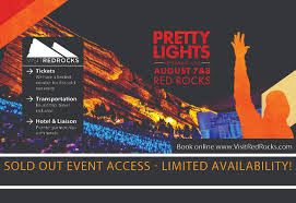 pretty lights red rocks tickets visit red rocks pretty lights sold out event access more