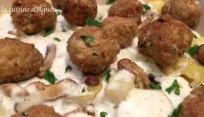 cuisiner avec du lait de coco boulettes de veau épicées au lait de coco la cuisine d agnèsla