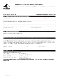 Can A Power Of Attorney Be Revoked by Revocation Of Power Of Attorney Form 17 Free Templates In Pdf