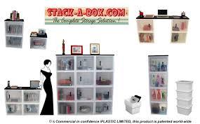stack a box modular home storage system iplastic com au