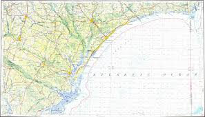 murrells inlet map topographic map in area of myrtle socastee conway