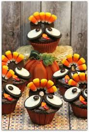 thanksgiving turkey cupcakes food faraway places