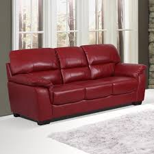 Cheap Leather Armchairs Uk Essington Cranberry Red Burgundy Leather Sofa Collection With 3