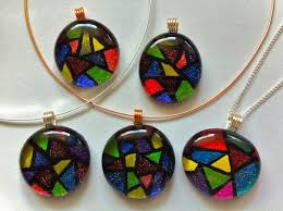 How To Make Fused Glass Jewelry - 101 best stained glass jewelry images on pinterest glass jewelry