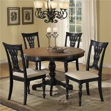 Dining Sets Dining Room Sets Cymaxcom - Black wood dining room set