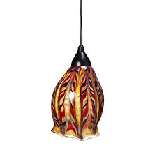 Pendant Light Fixture by Glass Feather Pendant Light Hand Blown Glass Ceiling Lamp Jim