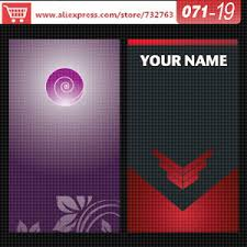 Business Card Template Online Aliexpress Com Buy 0071 19 Business Card Template For Print On