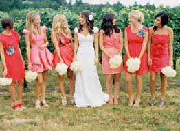 coolingerie how to make a perfect work of mismatched bridesmaid