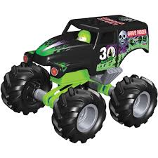 rc monster trucks grave digger k u0027nex monster jam special edition grave digger building set