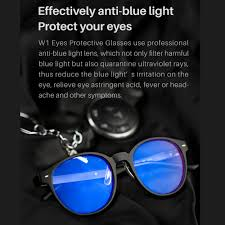 blue light filter goggles roidmi qukan w1 anti blue light lenses self tint glasses uv blocking