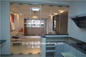kitchen partitions protect smell and oily smoke cooking enter