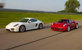 porsche truck 2015 2015 alfa romeo 4c vs 2014 porsche cayman u2013 comparison test u2013 car