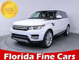 land rover supercharged white used 2014 land rover range rover sport supercharged suv for sale