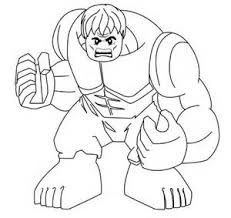 lego hulk superheroes coloring pages free coloring pages