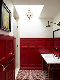 red bathroom red bathroom decor pictures ideas amp tips from hgtv