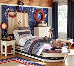 Pirate Ship Bedroom by Bedroom Cool Boys Bedroom Idea With Pirate Theme Using Dark Brown