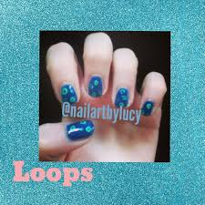 83 best loop nails by nded images on pinterest acrylic nails